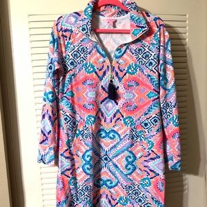 Lilly popover dress